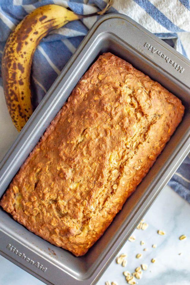 Whole grain banana applesauce bread Recipe Recipe