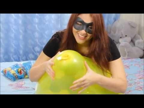 babe balloon fetish