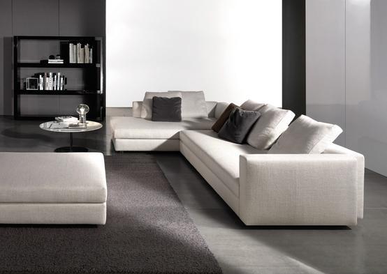 Kline Sofa By Italian Brand Minotti Minimalist Sofa Living Room Sofa Home Design Decor