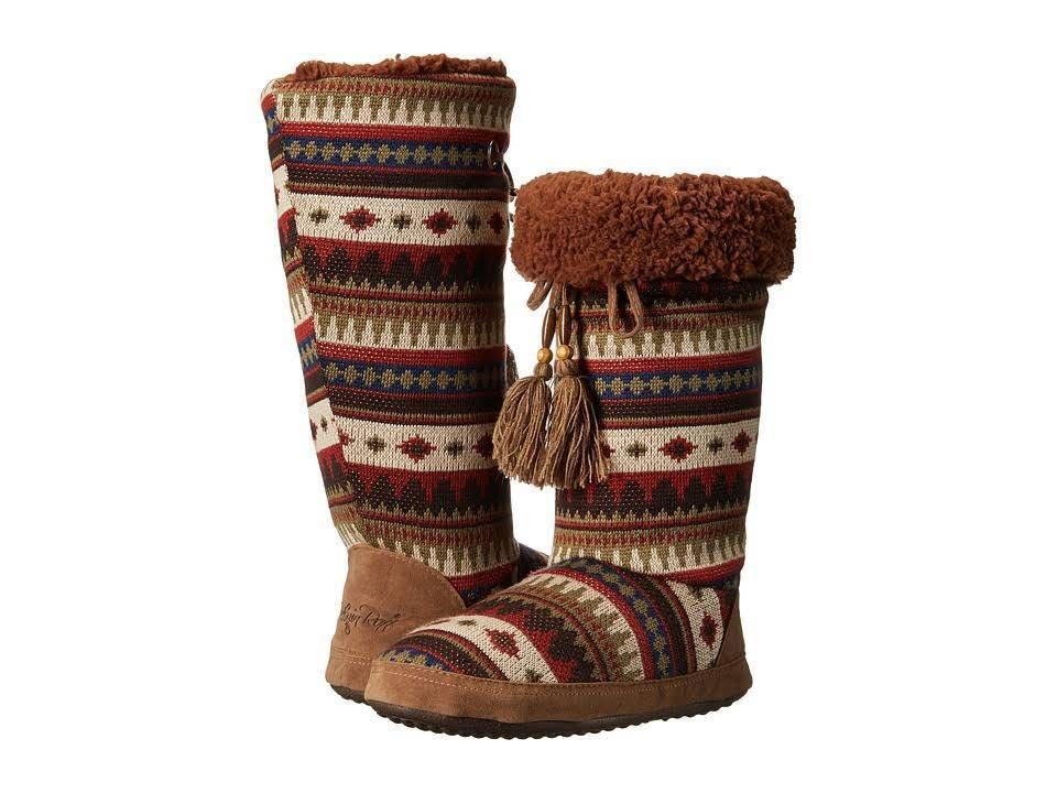 b7cdd679519a M F Western Blythe Women s Rain Boots Brown Brick. Blazin Roxx Slipper  Womens Kachina Style Size M (7 8) Multi  BlazinRoxx  TallMoccasinSlippers
