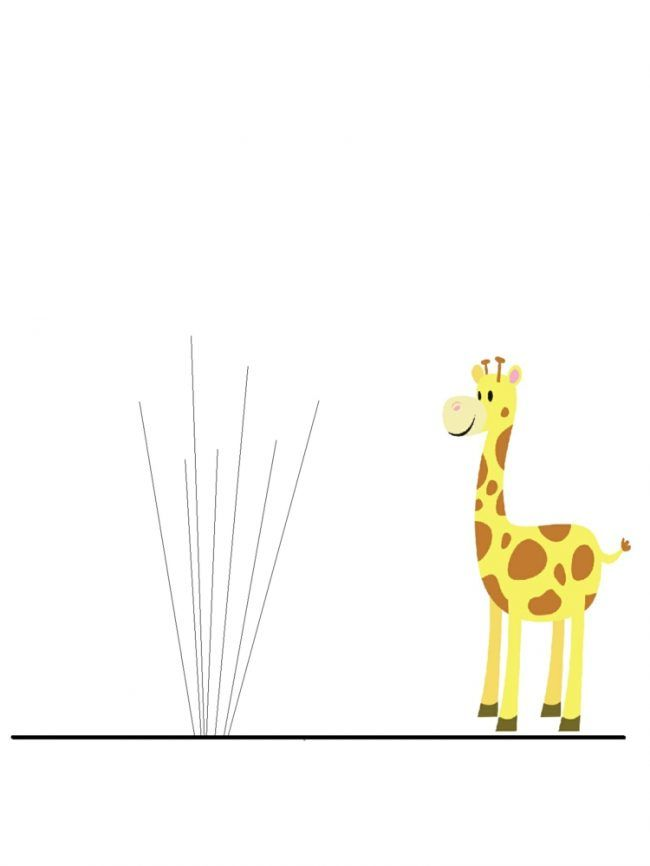 Kinderzimmer wandgestaltung giraffe  fingerabdruck-baum-vorlage-kinderzimmer-deko-wandgestaltung ...