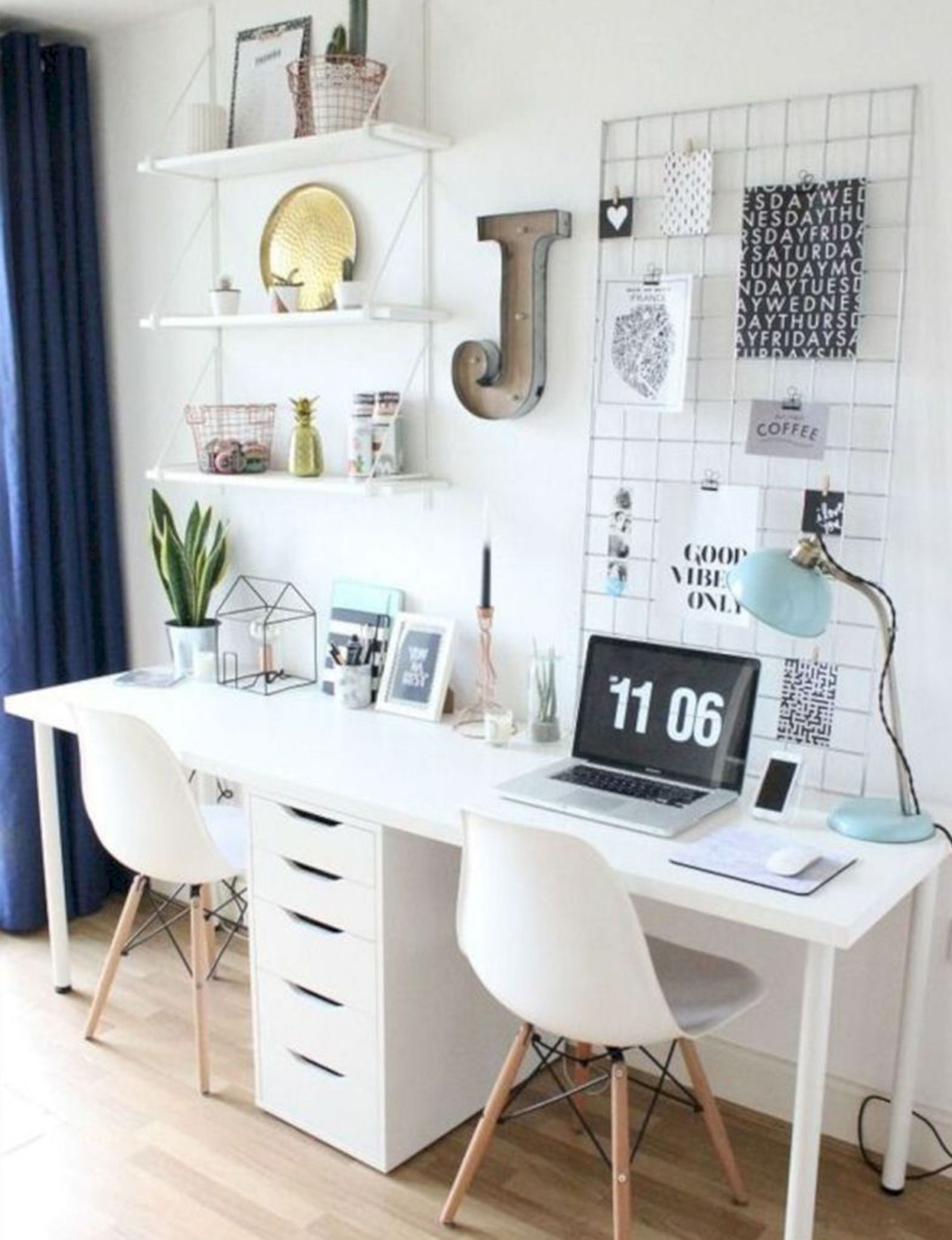7 Stylish Ways To Make The Most Of A Small Office Space Room