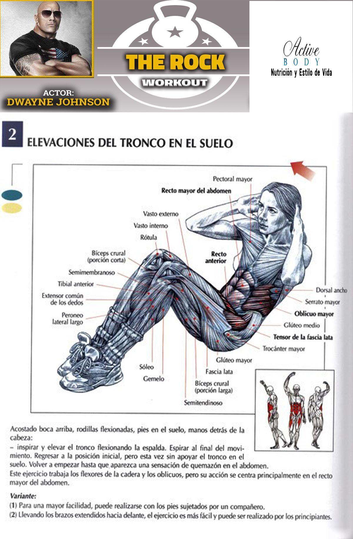 Los Mejores Ejercicios Para Tonificar El Abdomen Active Body Nutrición Salud Y Fitness Fit Board Workouts Exercise Abdomen Core Workout