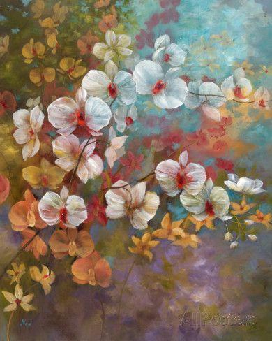 Garten In Bali I Kunstdruck