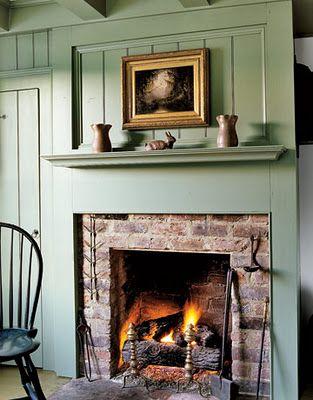 Fireplace Surround Fireplace Design Country Fireplace Brick