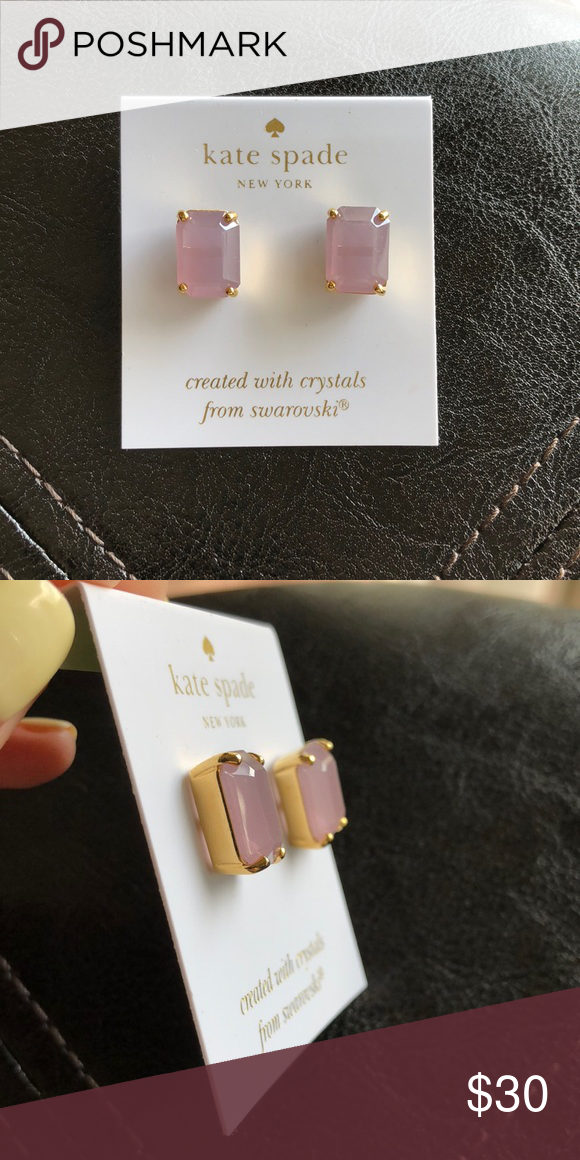 0eac9f90877c Kate Spade Rectangle Stud Earnings Brand new, never used, authentic Kate  Spade earrings! kate spade Jewelry Earrings