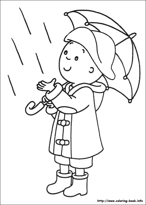 Caillou coloring picture | My coloring book | Pinterest | Coloring ...