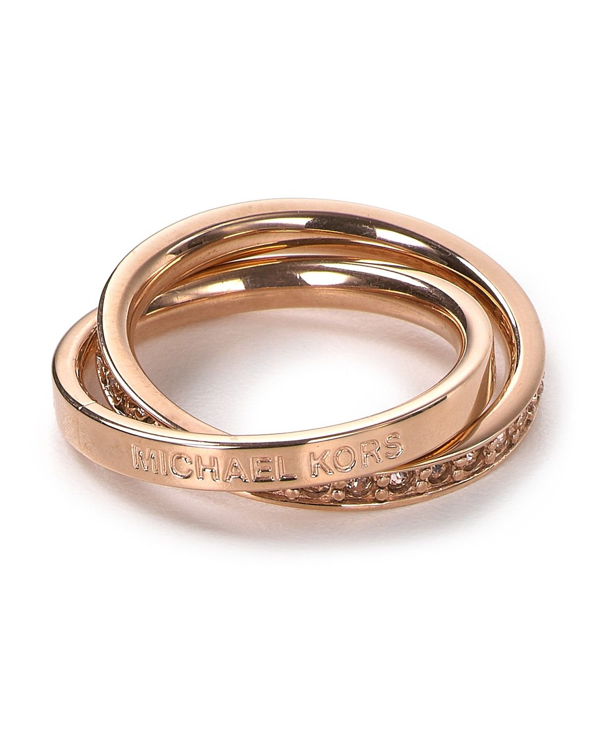 Michael Kors Trinity Rose Gold Ring Bloomingdale S Also Want