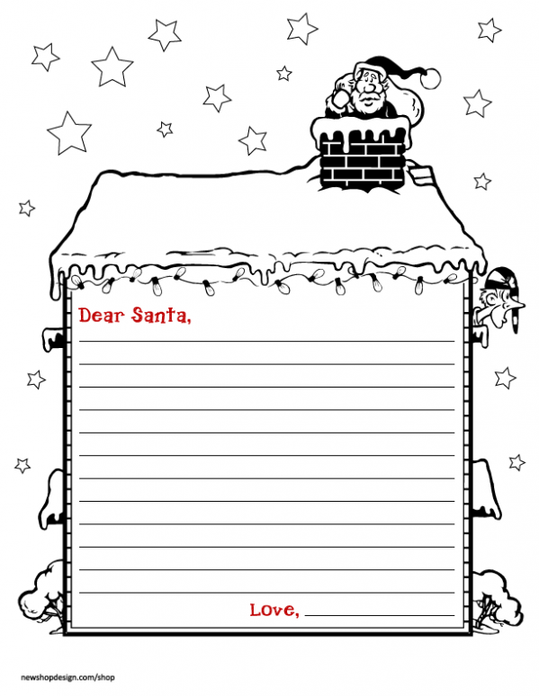 Free Santa Letter & Envelope Printable Free letters from