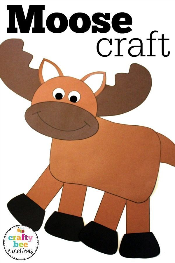 Moose Craft Preschool : moose, craft, preschool, Moose, Crafts, Ideas, Crafts,, Kids,