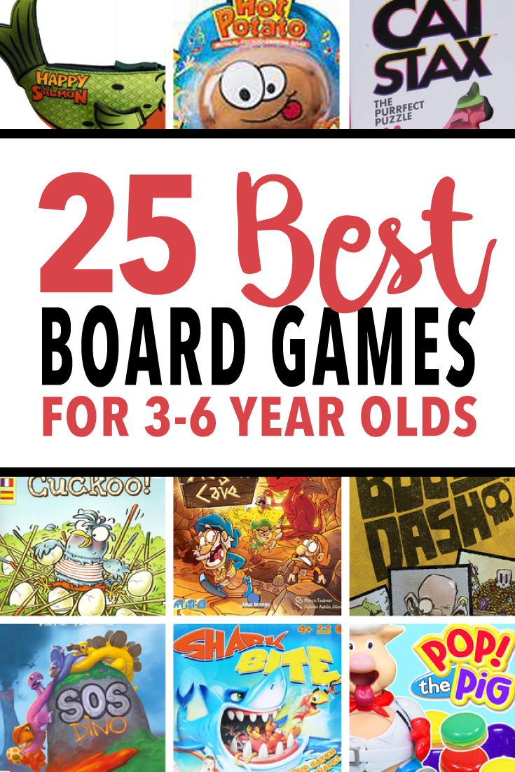 25 Fun Board Games for 36YearOld Kids to Play Instead
