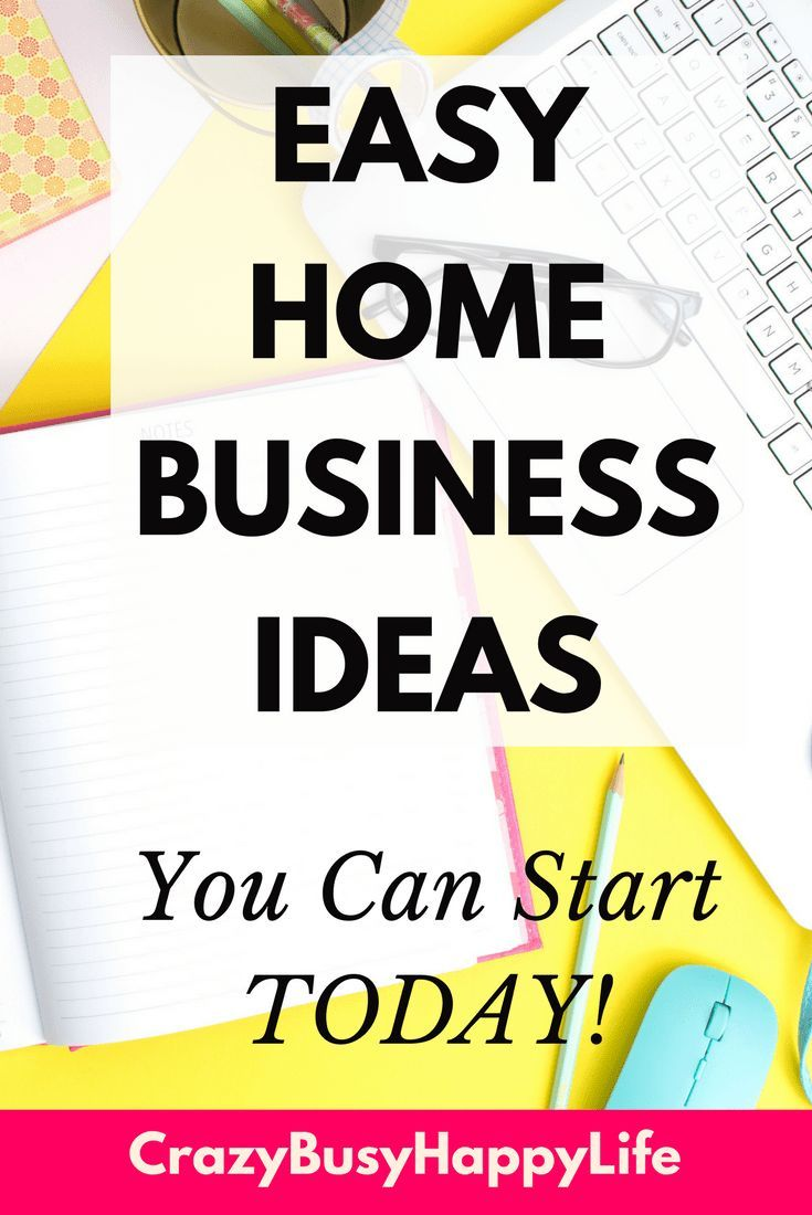 Business Ideas To Do From Home Profitable Small Business Ideas How ...