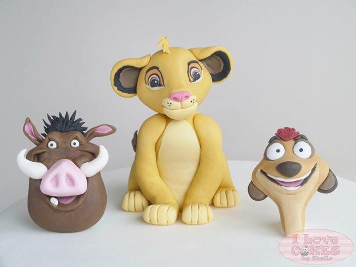 Pumba Cake: Lion King Cupcakes, Lion King Cakes