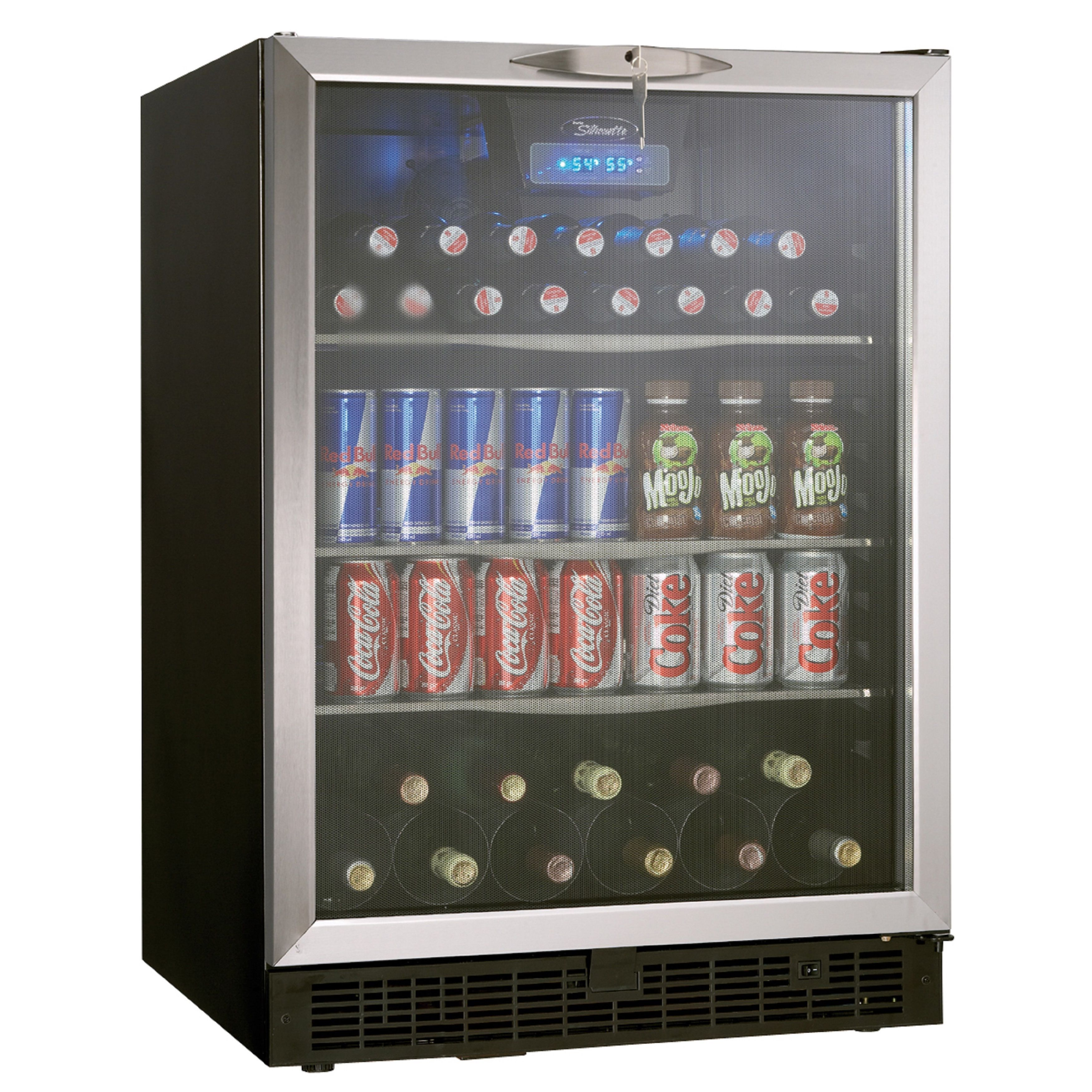 Danby DBC514BLS 5 3 cu ft Free Standing or Built in Beverage Center