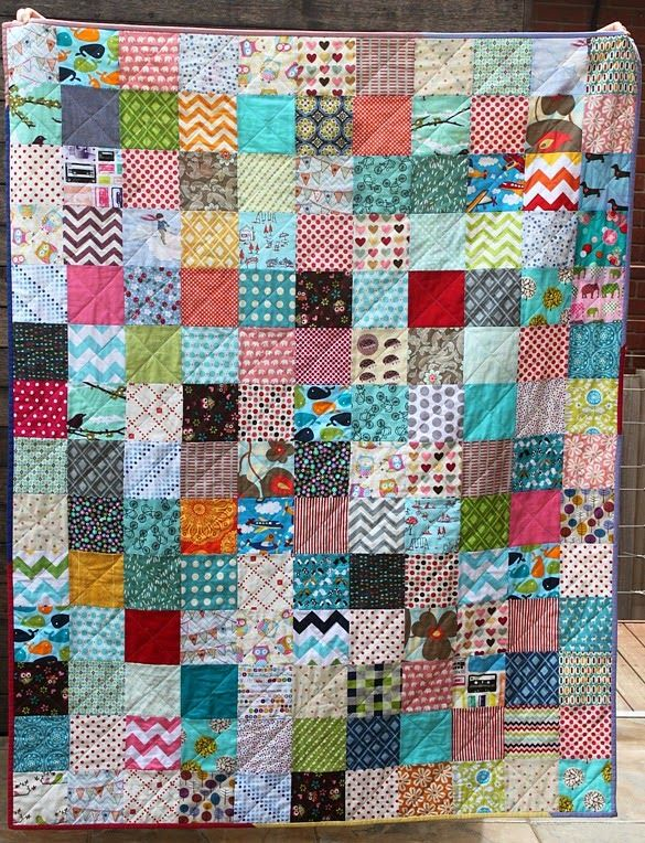 Scrappy Charm Square Quilt Sew Delicious Charm Square Quilt Scrappy Quilt Patterns Square Quilt