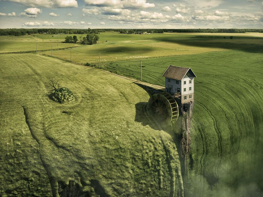 Photoshop Artist Erik Johansson shows how he creates his Mind-bending images are made.4