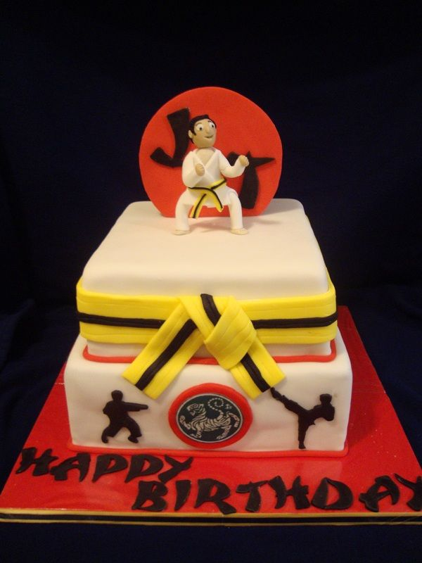 Karate Cake Design : Karate Birthday Cake - 10