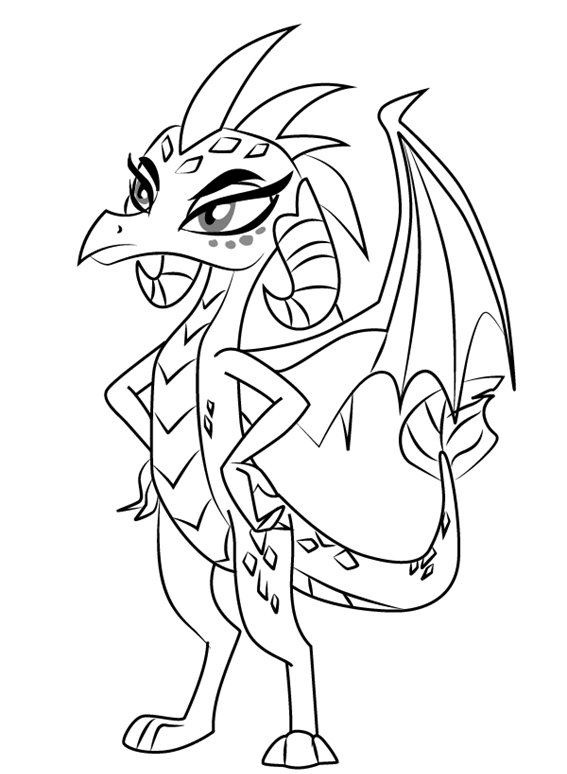 Pin by ScribbleFun on Free Cartoon Series Coloring Pages
