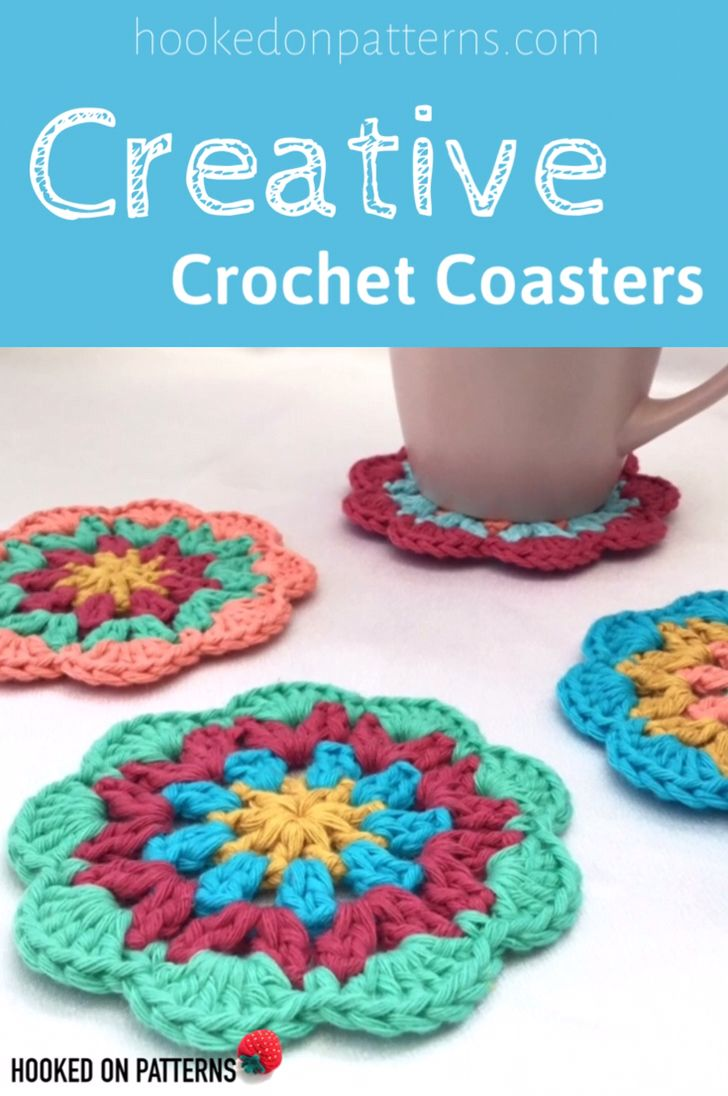 Photo of Creative Crochet Coasters – Find the patterns here!