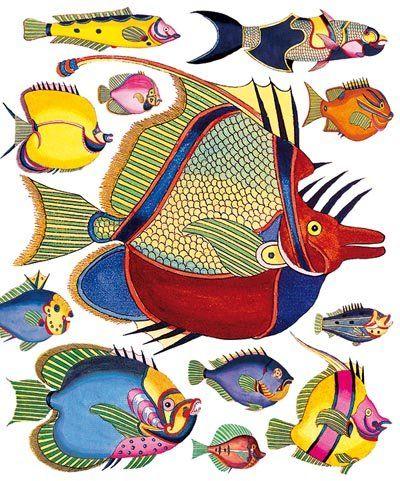 Reynard Fish - Natural History Museum greeting card