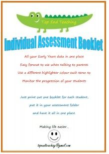 Individual Assessment Booklet Cover