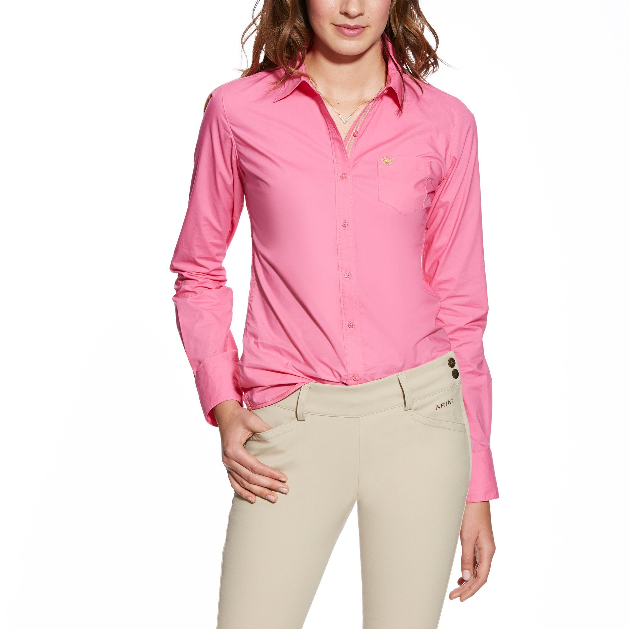 ARIAT Womens Kirby Fitted Button-Down Shirt