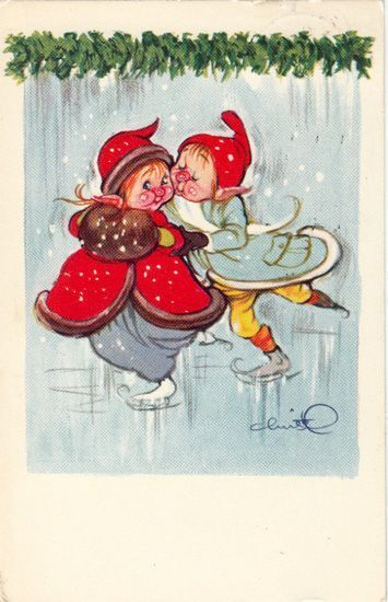 Pin by synve andreassen on christel pinterest christmas cards danish christmas vintage cards christmas cards denmark fairies christmas nothing drawings m4hsunfo