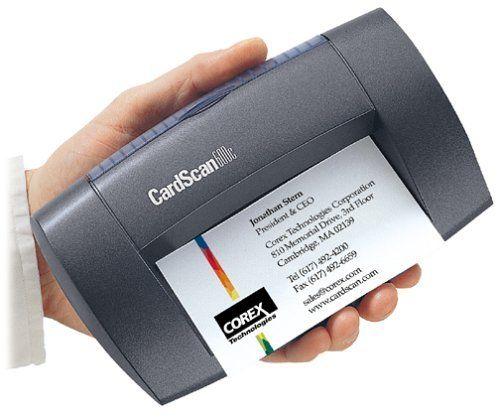 Cardscan Office 600c V6 Business Card Scanner By Cardscan