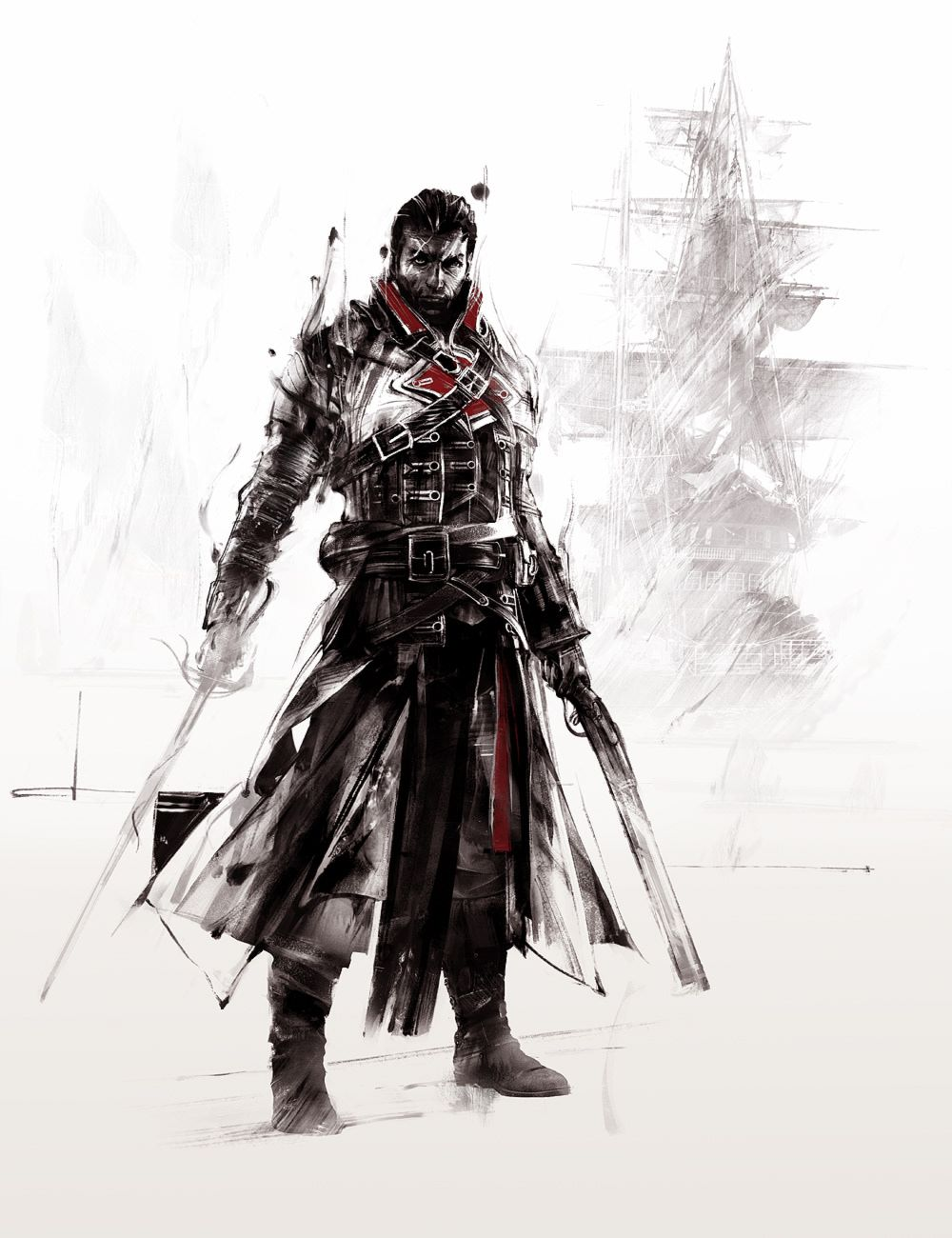 Assassin S Creed Red Lineage Ii On Behance Assassins Creed