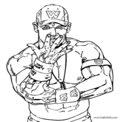 John Cena Coloring Pages Wwe Coloring Pages John Cena Birthday Wwe Birthday Party