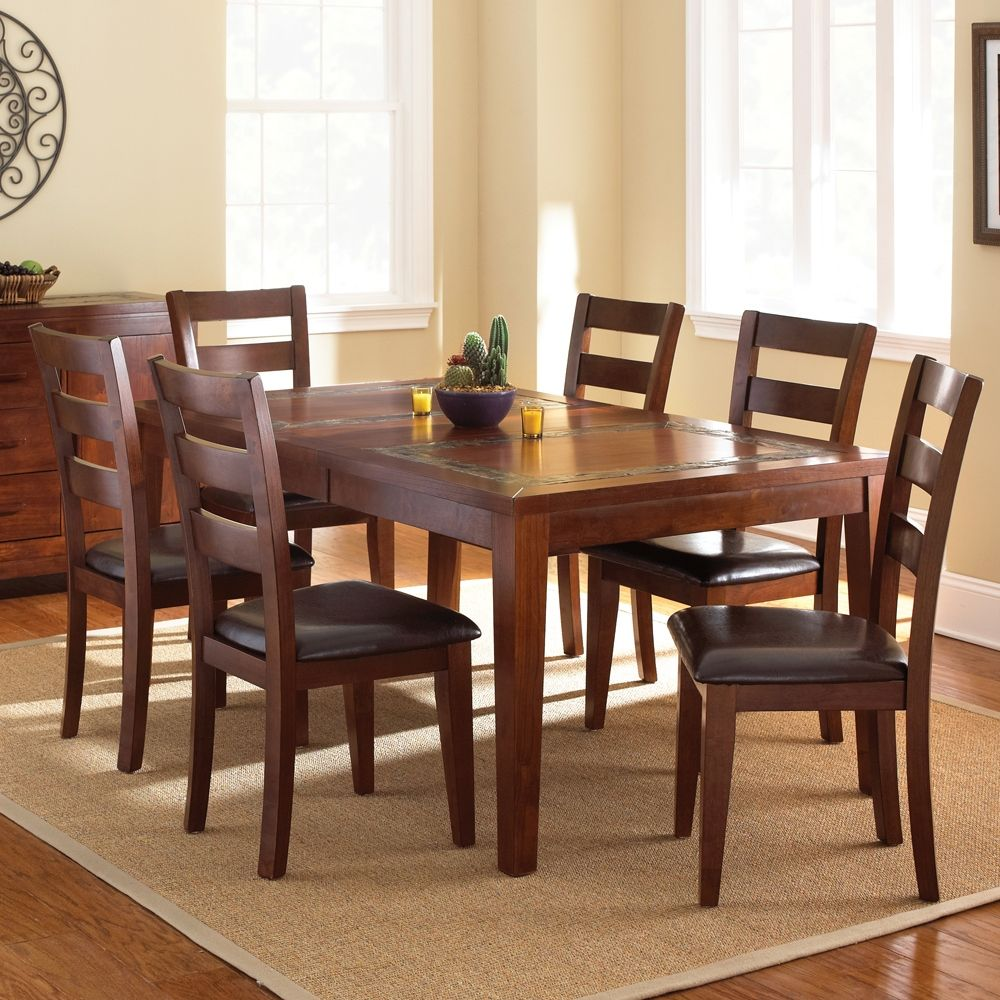 Delightful Davenport 7 Piece Dining Set