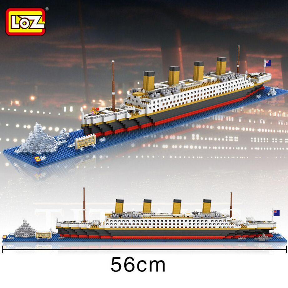 Loz Mini Diamond Building Block Creator Cm The Titanic Cruise - Educational cruise ships