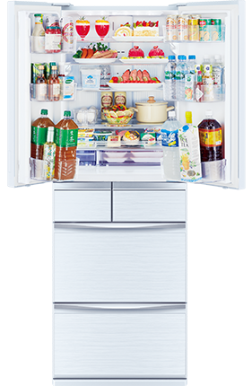 三菱電機 冷蔵庫 置けるスマート大容量シリーズ Mxシリーズ プレミアムフレンチモデル Mr Mx50d トップ スマート デザイン ガラスドア
