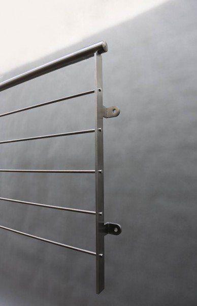 Relinggeländer Mit 5 Knieleisten | Terrassen Und Geländer | Pinterest Balkongelander Ideen Material Design