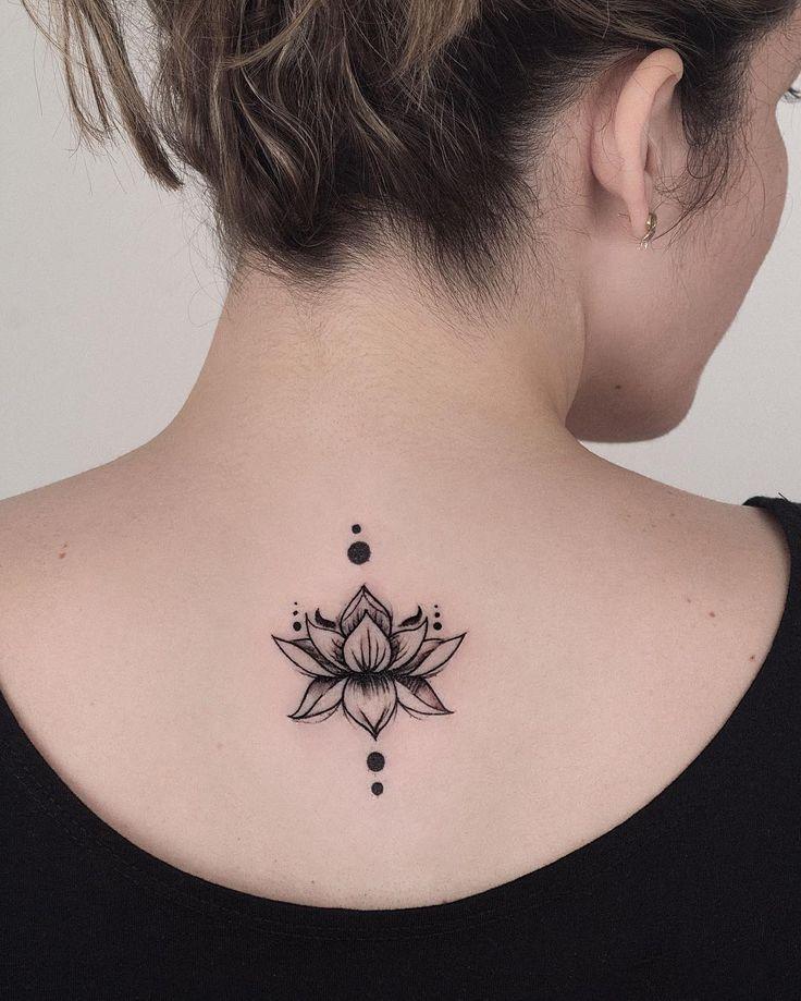 33++ Tatouage nuque fleur de lotus ideas