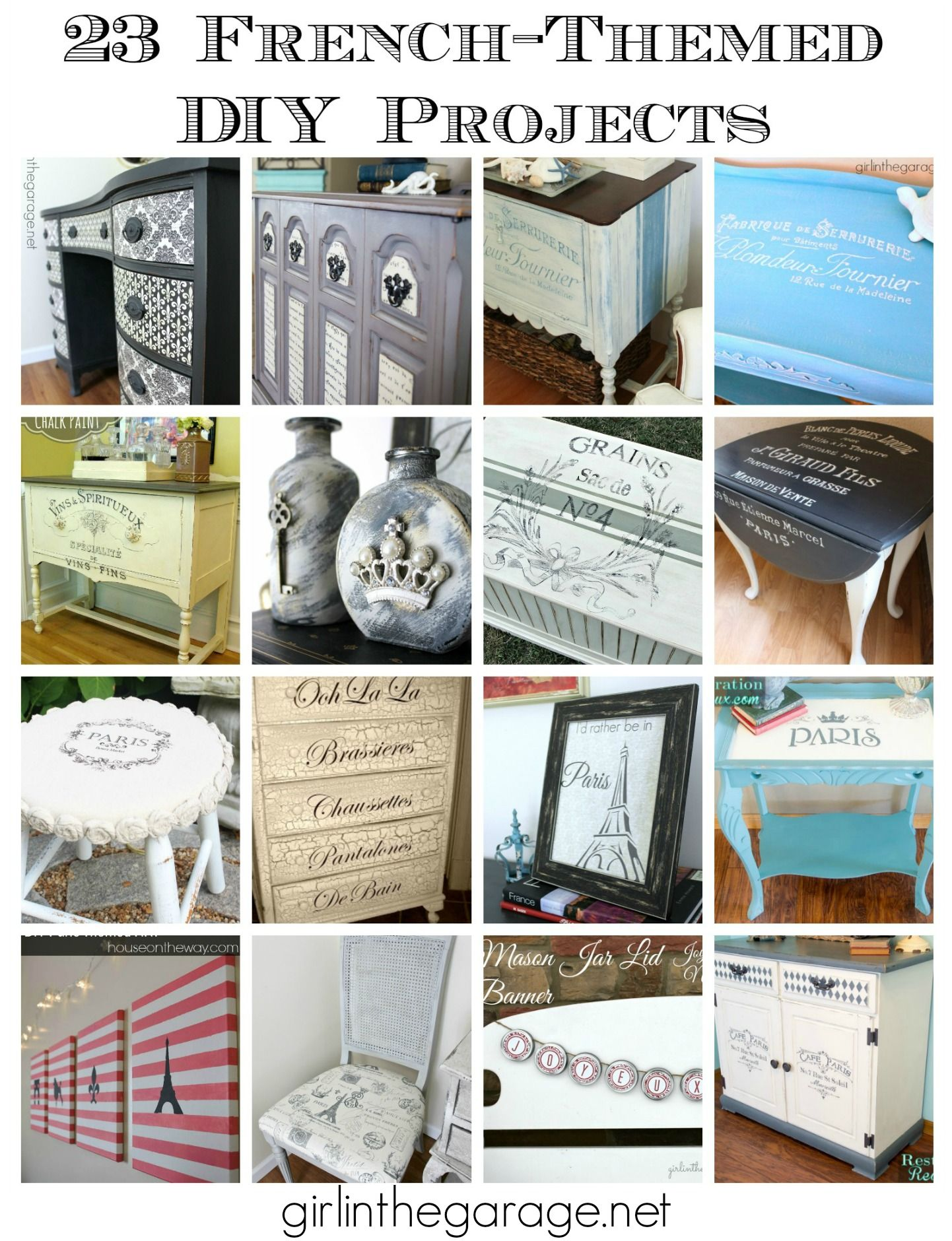 23 French-Themed DIY Projects (With images) | Diy projects ...