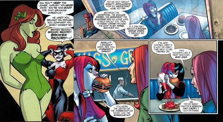 harley and ivy relationship