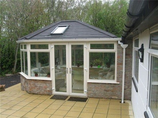 Pin By Kristin Wilha On For The Home Patio Roof Tiled Conservatory Roof Pergola With Roof