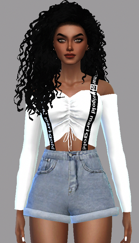 Curly hair / Downloads The Sims 4 curlyhair em 2020