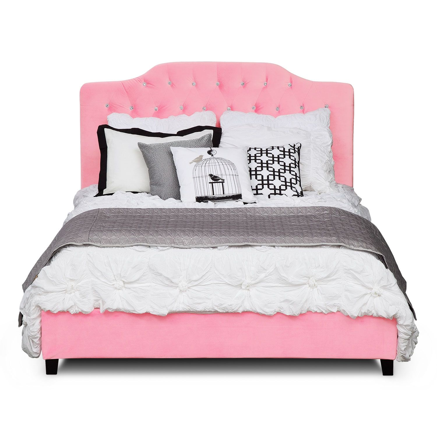 Valerie Queen Bed Value City Furniture Queen Mattress Set Princess Furniture Queen Beds