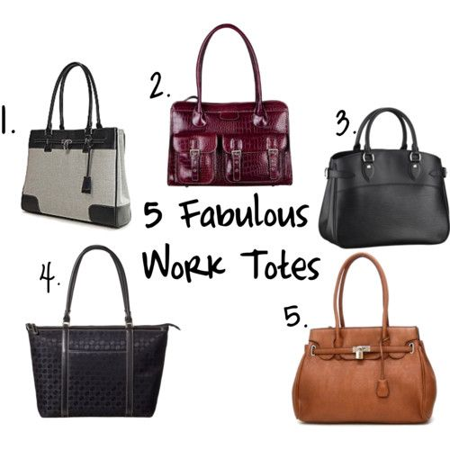 5 Fabulous Work Totes for Women at Work | Career, The o'jays and Girls