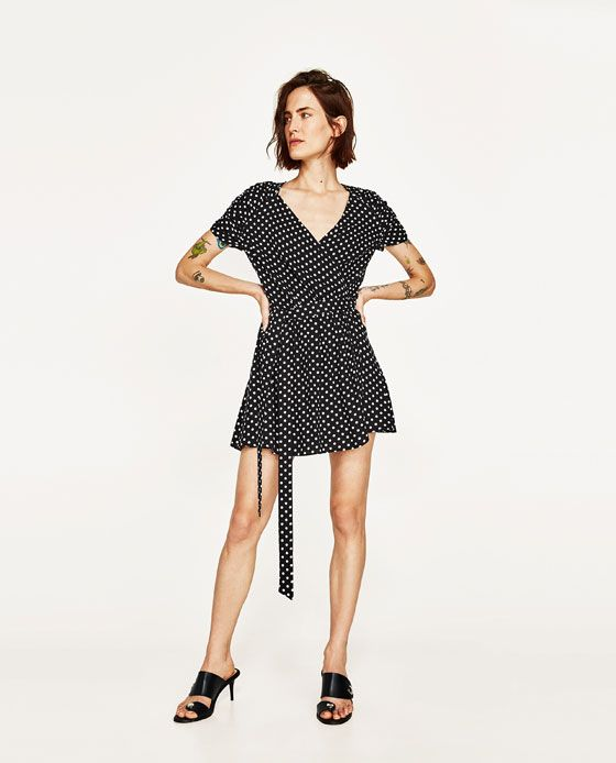 5324bfc2999f MONO CORTO LUNARES | wear/одежда | Mono corto, Vestidos y Zara