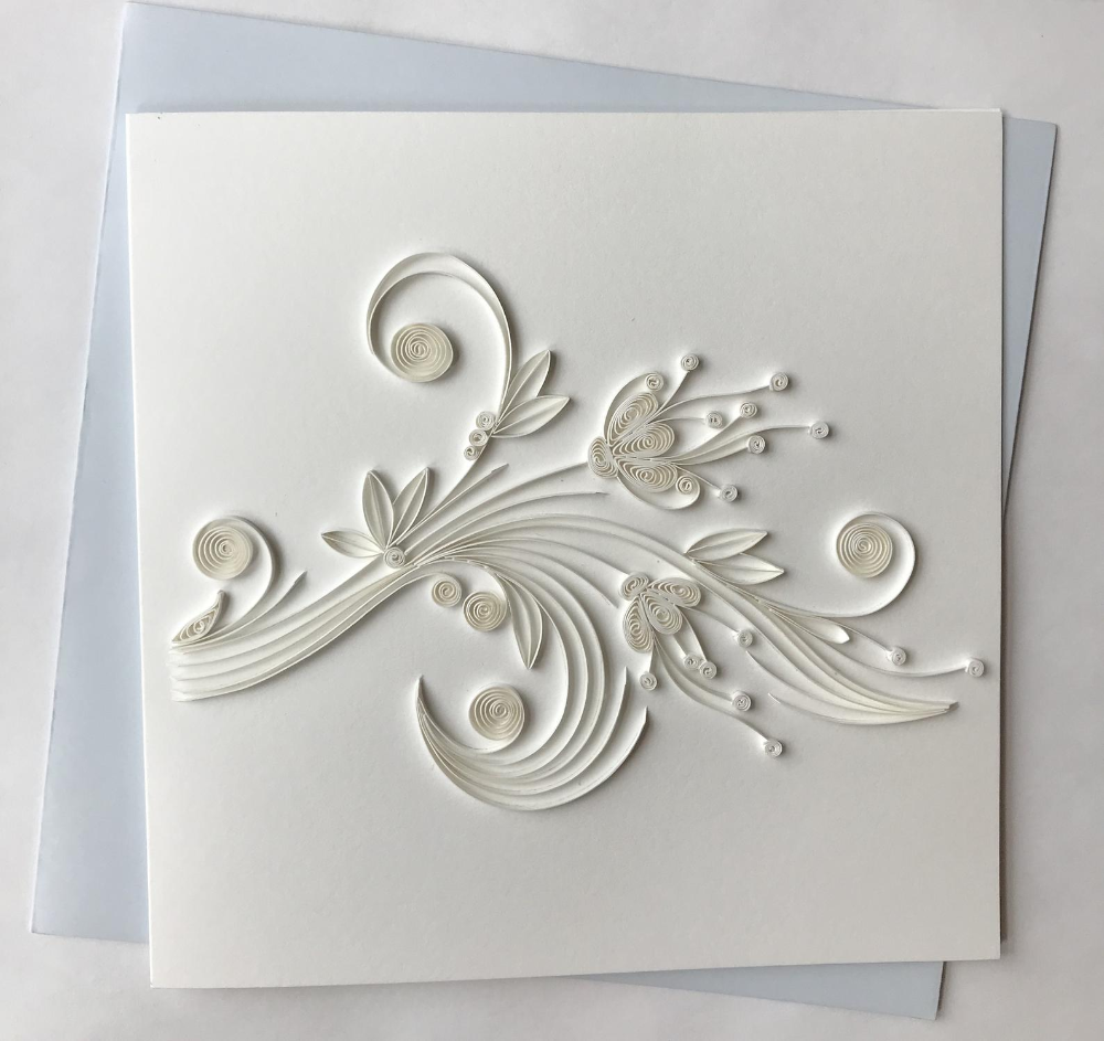 quilled greeting card quilling greeting card handmade