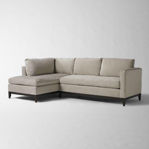 West Elm 102 X 36d X 30h Chaise Is 67 D On Sale Custom Fabric
