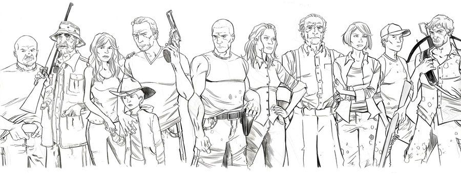 Walking Dead Coloring Pages Coloring Pages Coloring Books