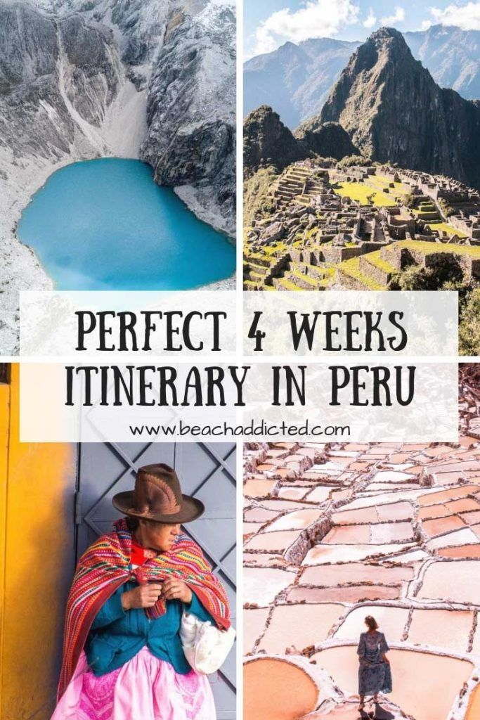 Perfect 4 weeks Peru itinerary with our highlights which are worth to visit  is part of Perfect  Weeks Peru Itinerary With Our Highlights Which Are - If you don't have time restriction, then this 4 weeks itinerary in Peru is perfect for you  Peru was one of the most beautiful countries we have seen in Traveling to Peru and have more time to explore  Then this 4 weeks itinerary in Peru is perfect for you with all highlights of Peru