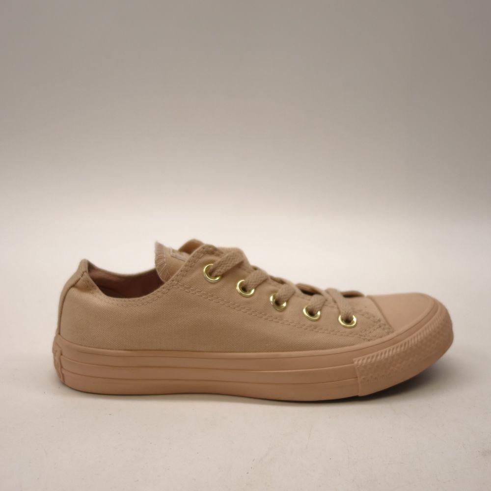 dd8c7c2c28e New Converse Women Beige Skin Tone Chuck Taylor All Star Low Canvas Shoes  Sz 6  Converse  Comfort