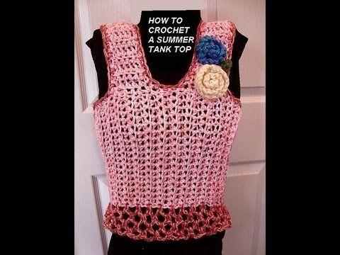 Crochet Baby Singlet Pattern Httpsknittingembroiderycrochet