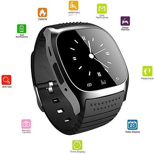 Smart watch bluetooth Touch Screen Wristwatch Sports
