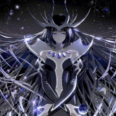 Dark Queen Beautiful Pretty Beauty Magic Anime Female Girl
